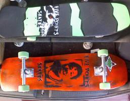 wesly willis stencil deck