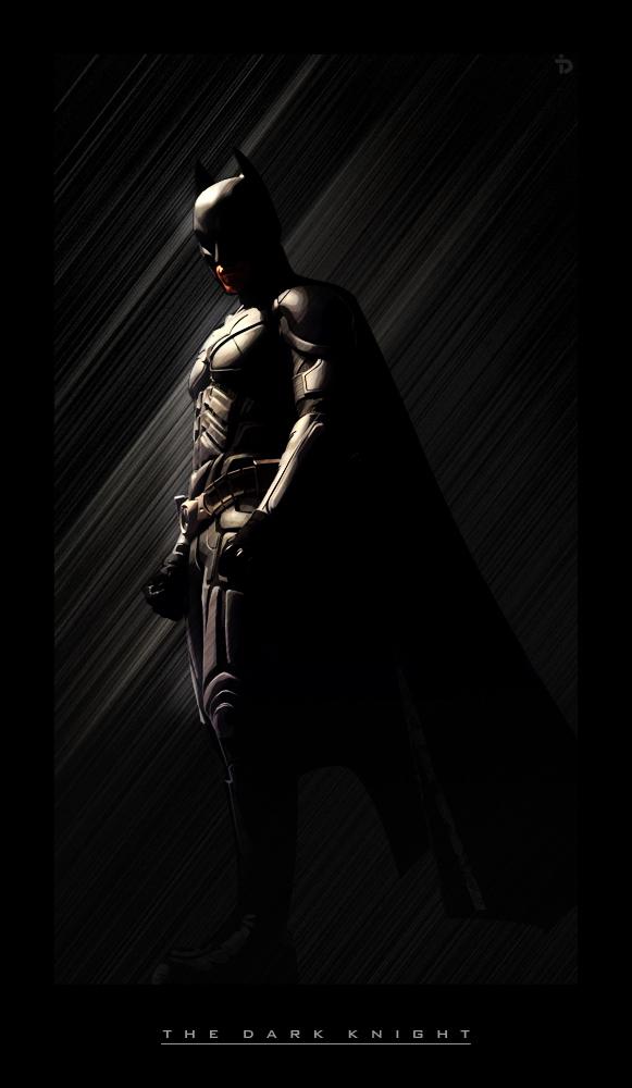 The Dark Knight by ditz