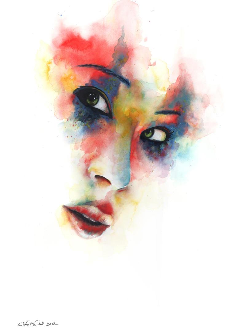Portrait of Lucy Liu by clemcrea ...