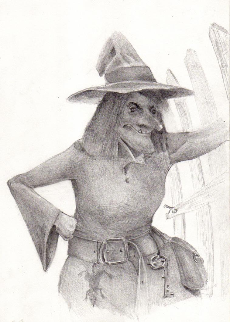 Witch by Dandeliesque