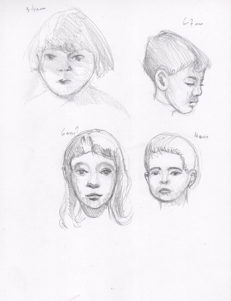 little faces sketch by Dandeliesque