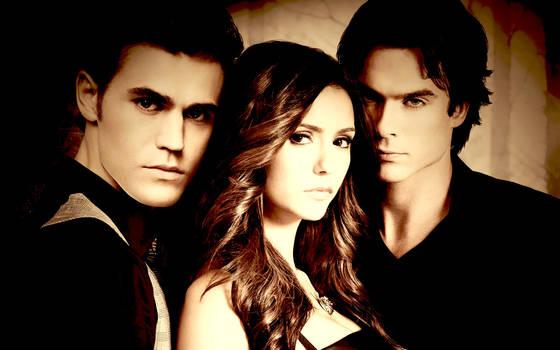 The Vampire Diaries Wallpaper by Lauren452