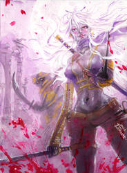 Fanhir - Killed by your Beauty by Musashi-son
