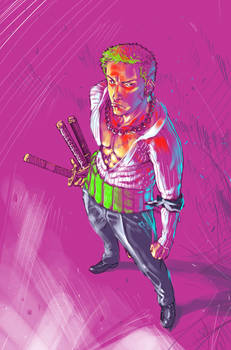 Zoro don't play whit colors