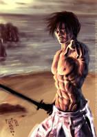 Aki - Burning Soul by Musashi-son