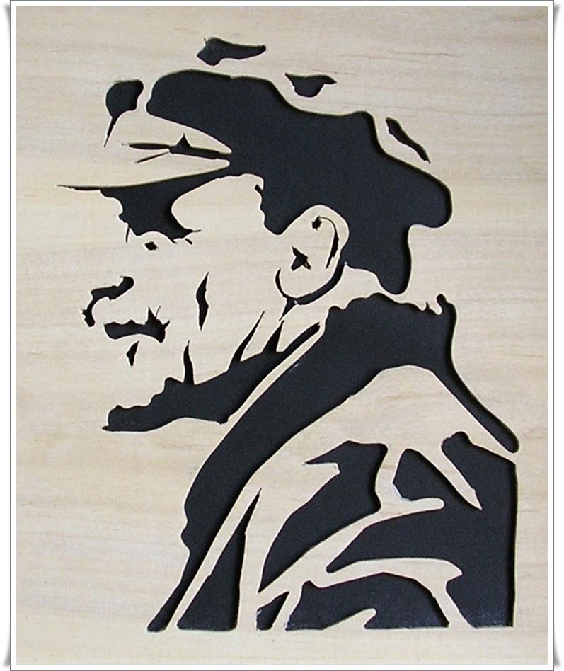 101 plantillas para stencil arte taringa - Plantillas pared ...