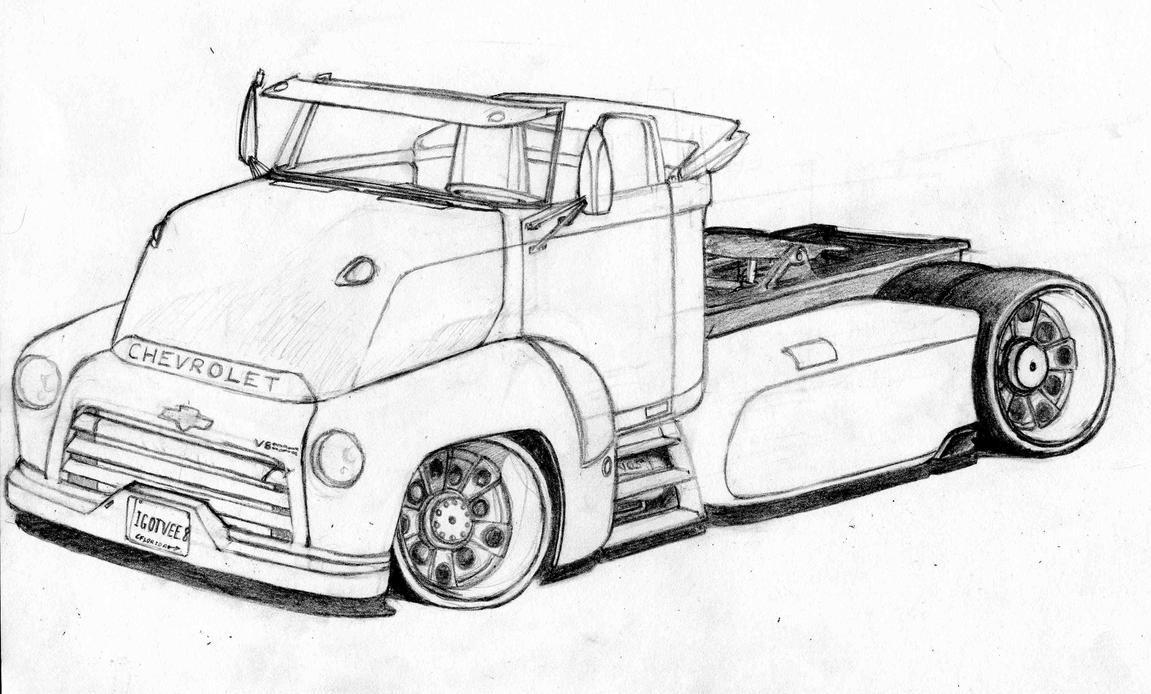 My Chevy Beach Truck By Cosmosmocker On Deviantart