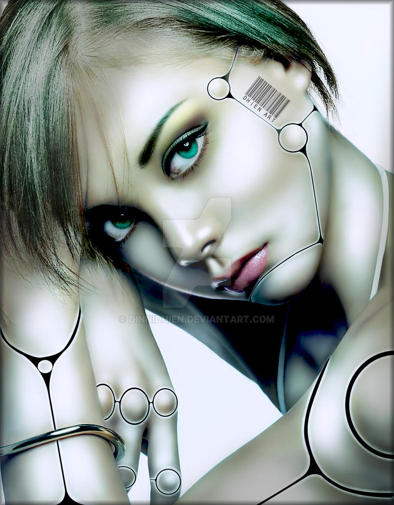 ..Beautiful Cyborg.. by DinniDhien