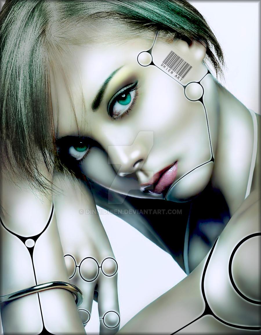 ..Beautiful Cyborg.. by DinniDhien