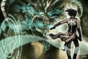 goobye monster by YTNAS