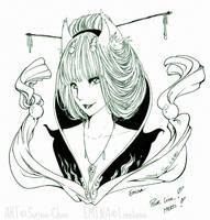 X-MAS Gift - Emina by Sorina-chan