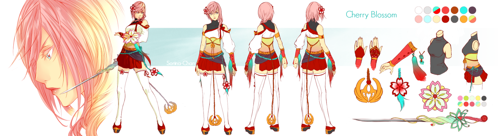 Lightning Returns - Cherry Blossom Design by Sorina-chan