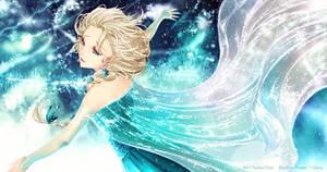 FanArt Elsa by Sorina-chan