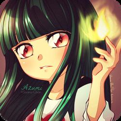 CHIBI Commission - Azu by Sorina-chan