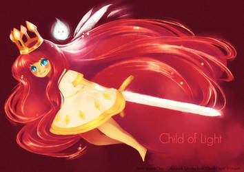 FanArt - Child of Light by Sorina-chan