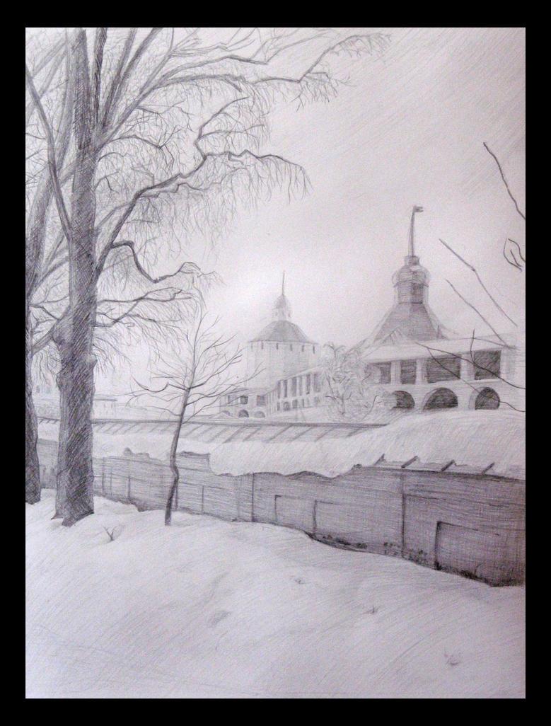 Kirillo-Belozersky monastery by AlbinaDiamond