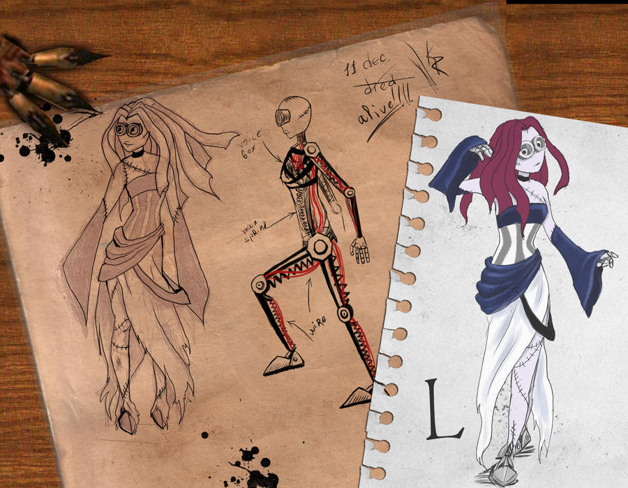 Project 'L' concept by AlbinaDiamond