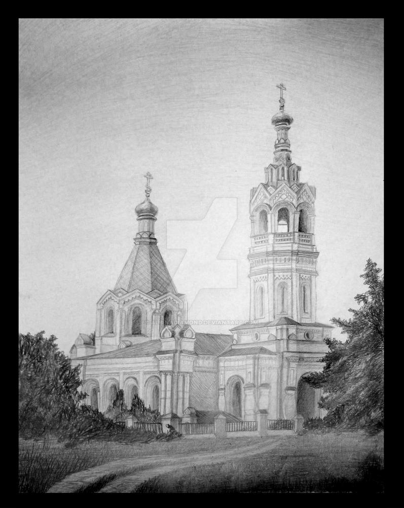 Georgievskaya church by AlbinaDiamond