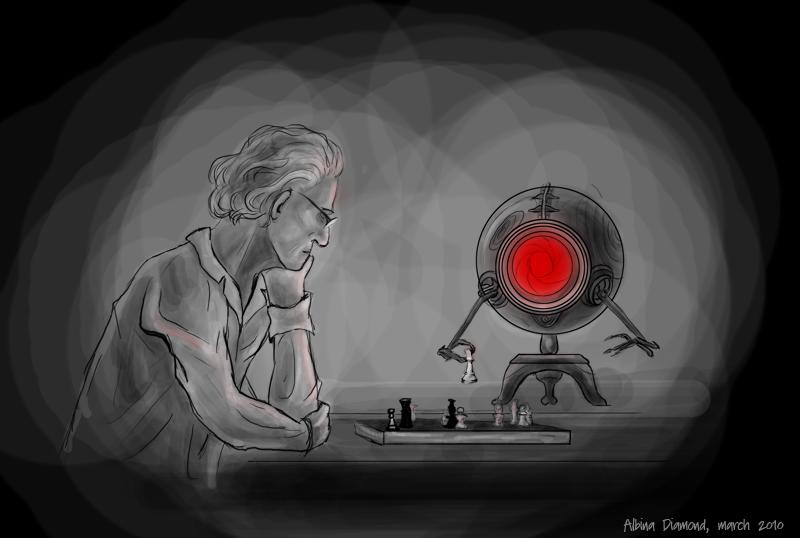 Chess Fight vs B.R.A.I.N. by AlbinaDiamond