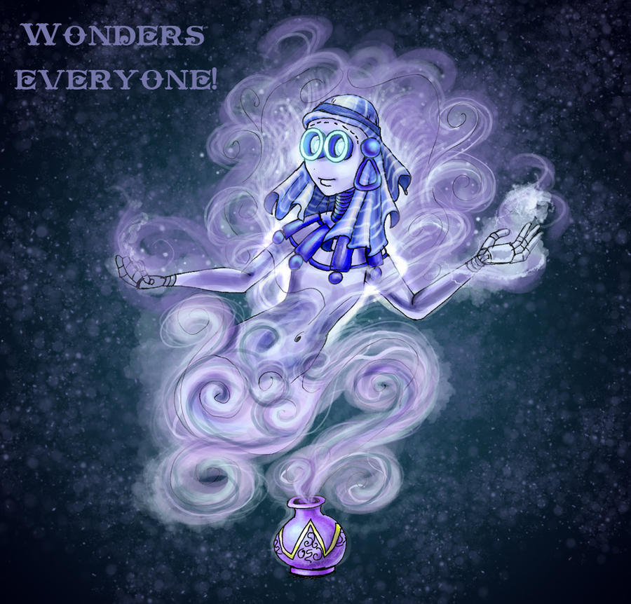 9 OC - Wonders everyone by AlbinaDiamond