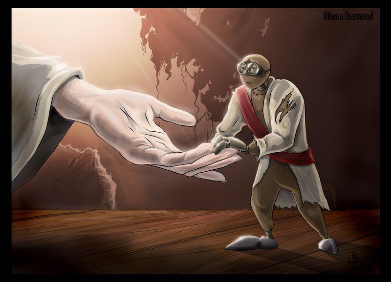 9 - Give me hand by AlbinaDiamond