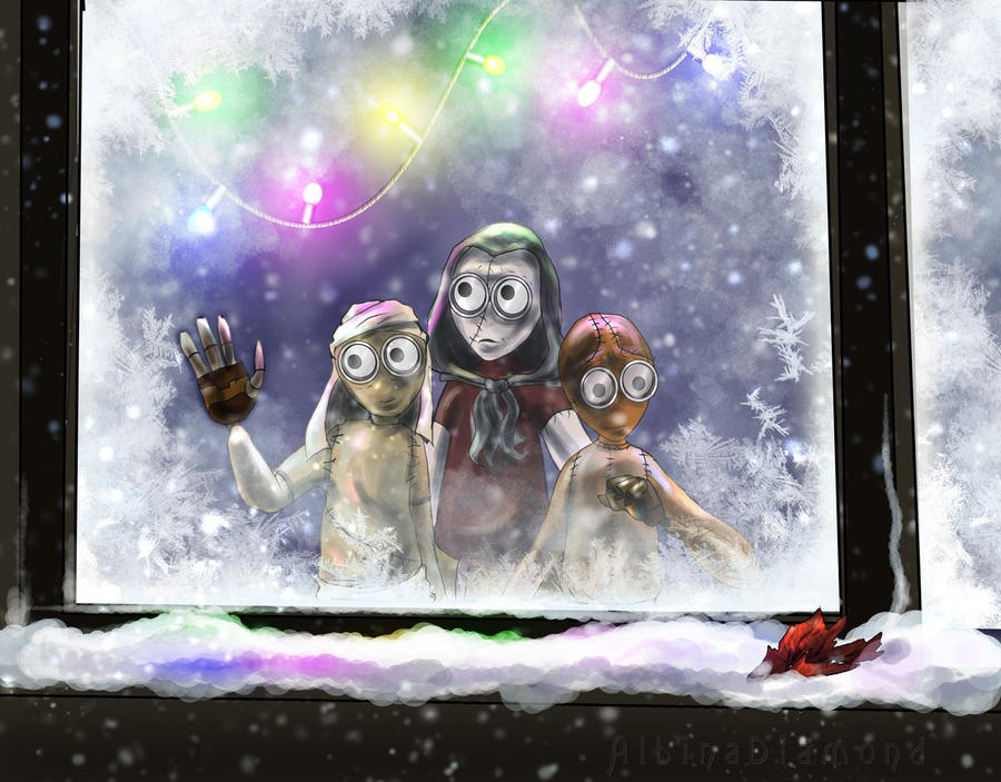 9OC - First Snow by AlbinaDiamond