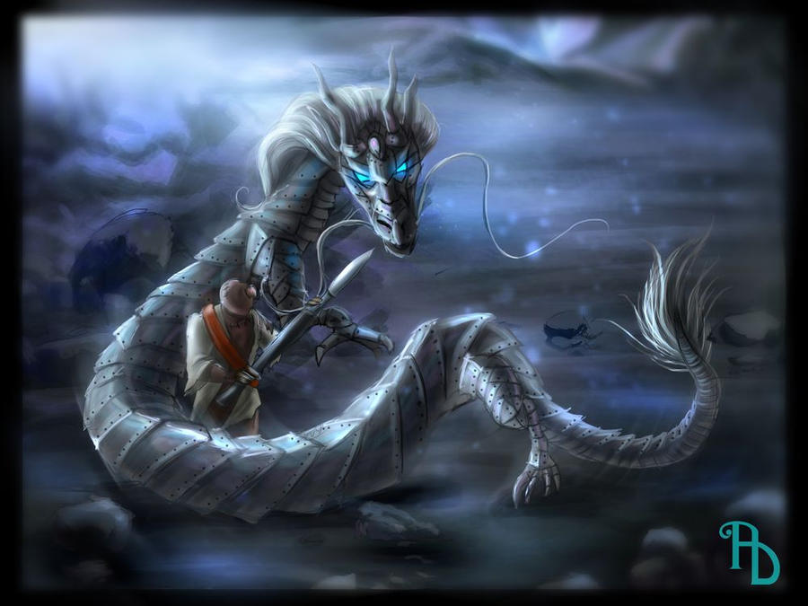 9OC - Mystery monster by AlbinaDiamond