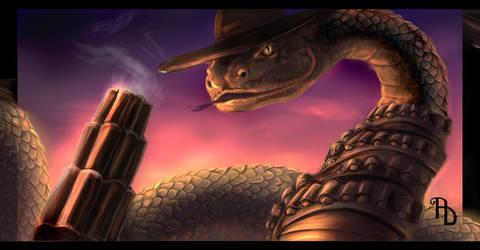 Rattlesnake Jake by AlbinaDiamond