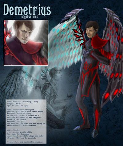 Demetrius - character reference by AlbinaDiamond