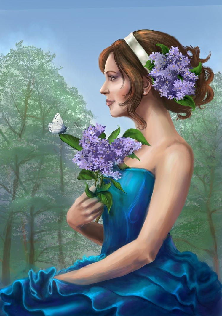 Late Spring by AlbinaDiamond
