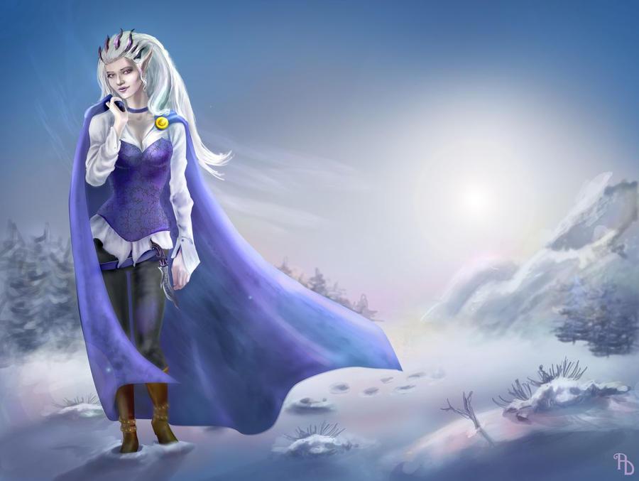 Miranda - winter trip by AlbinaDiamond