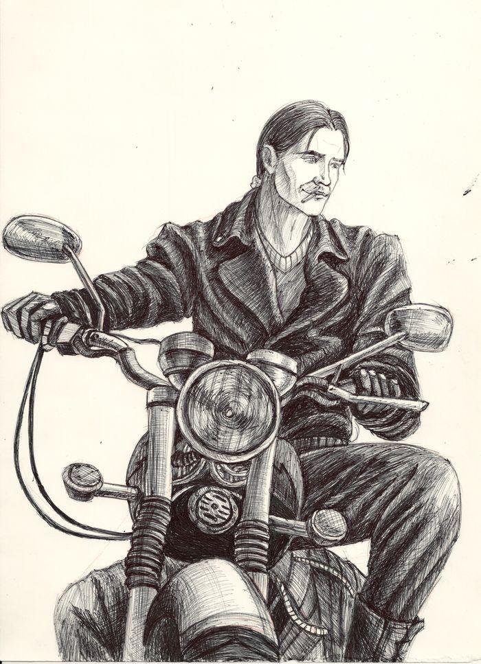 Biker by AlbinaDiamond