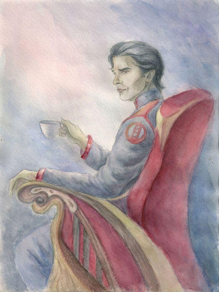 Morris - watercolor by AlbinaDiamond