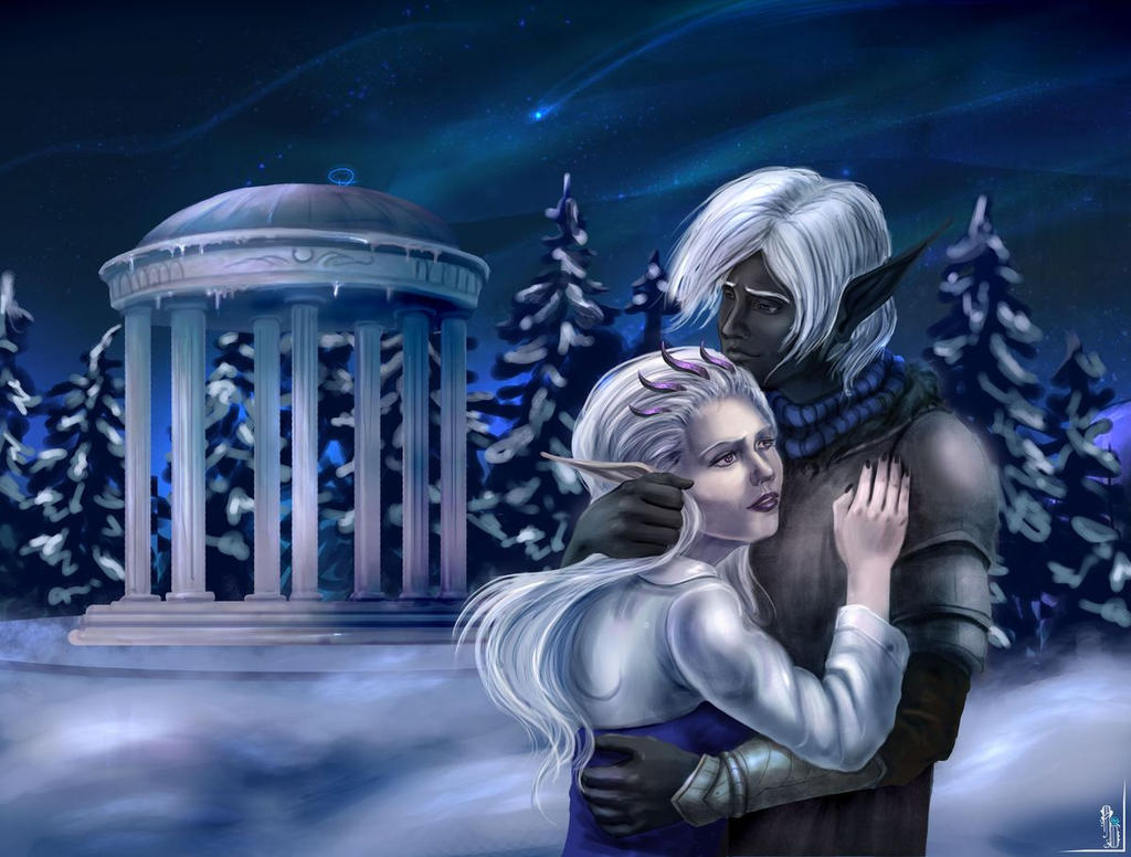 AT-couple - Kain and Myranda II by AlbinaDiamond
