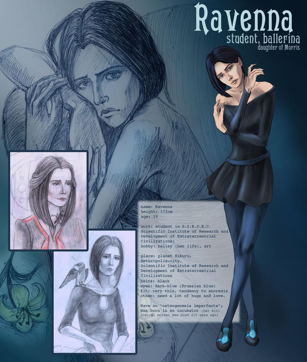 Ravenna - character reference by AlbinaDiamond