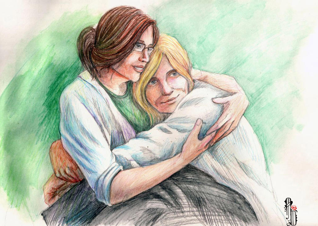Hugs by AlbinaDiamond