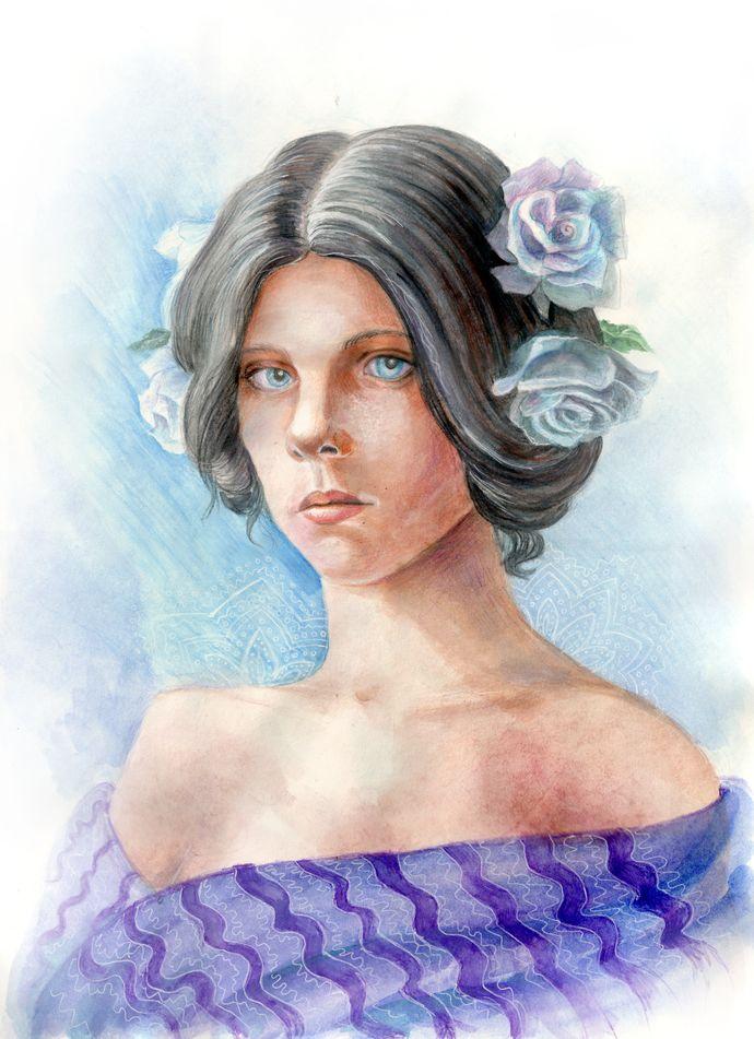 Mathilde Weil - Rosa Rosarum by AlbinaDiamond