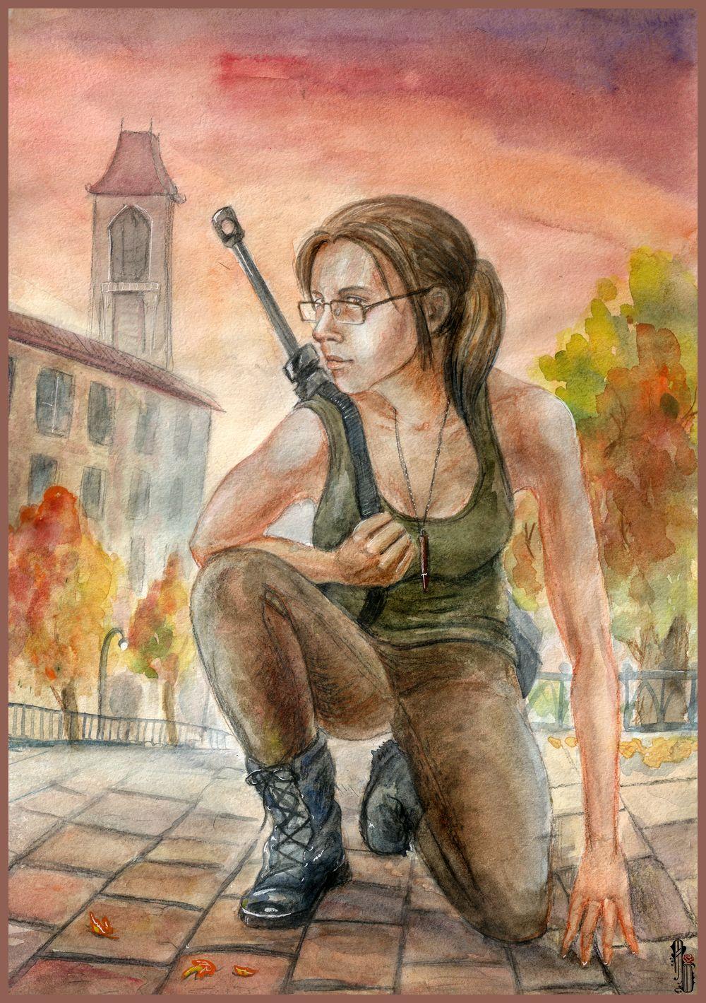 Warrior Ann by AlbinaDiamond