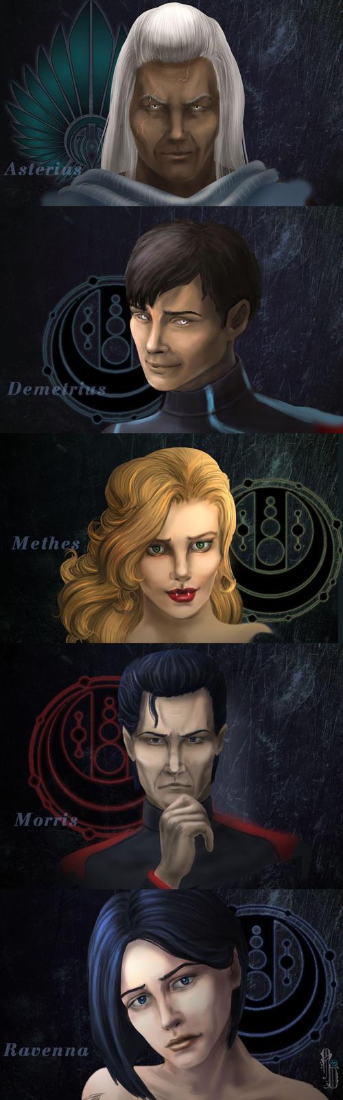 Faces by AlbinaDiamond