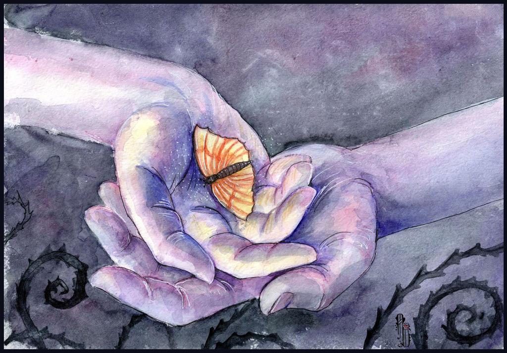 Hands by AlbinaDiamond