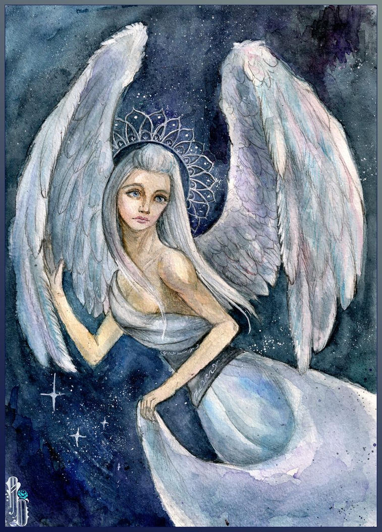 Cosmic Angel by AlbinaDiamond