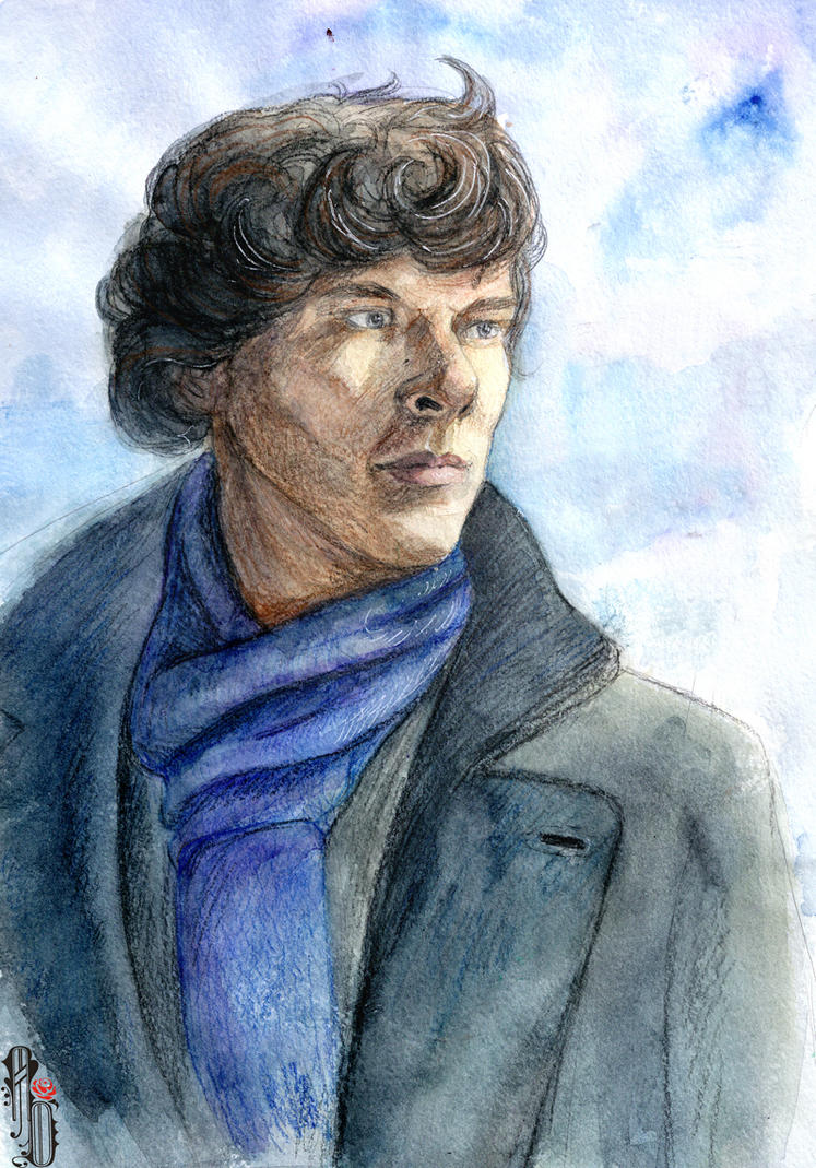 Sherlock by AlbinaDiamond