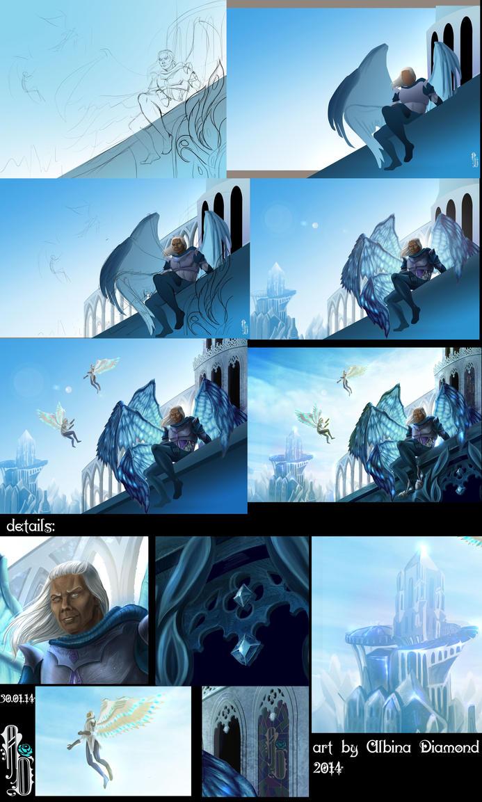 Asterius-studies by AlbinaDiamond