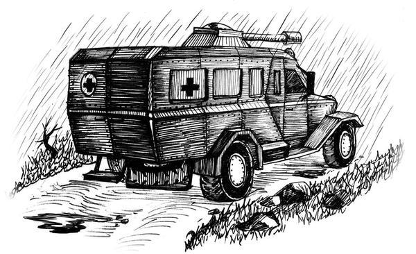 War Ambulance by AlbinaDiamond