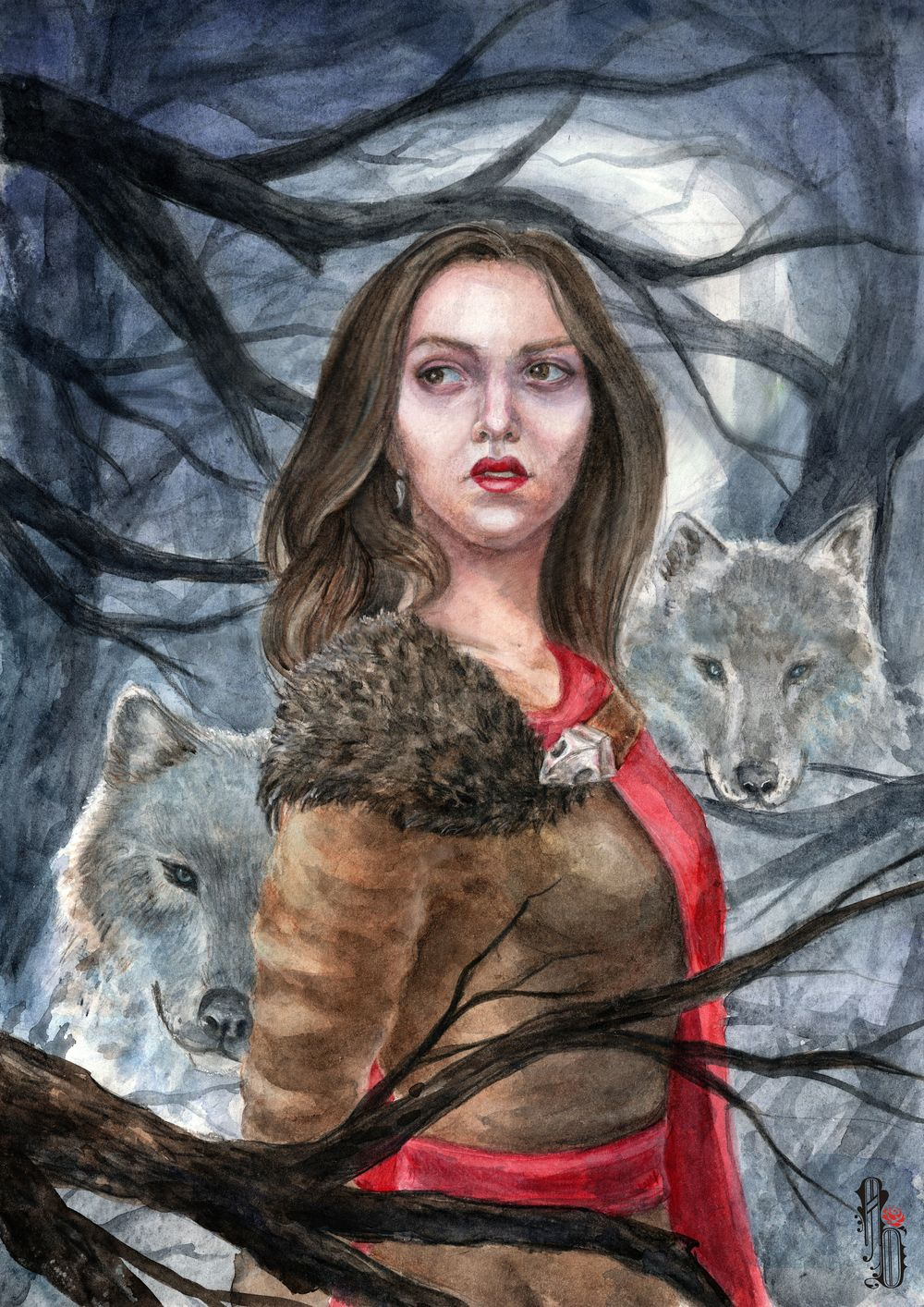 Dark forest story by AlbinaDiamond