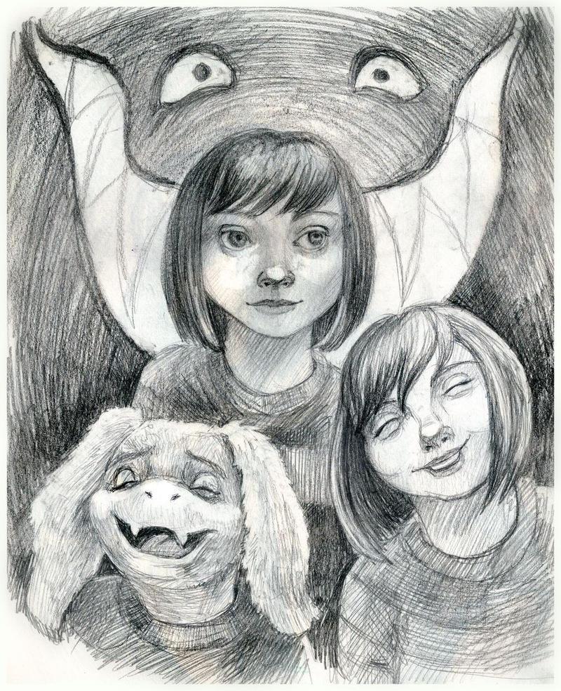 You`re best friends - UNDERTALE by AlbinaDiamond