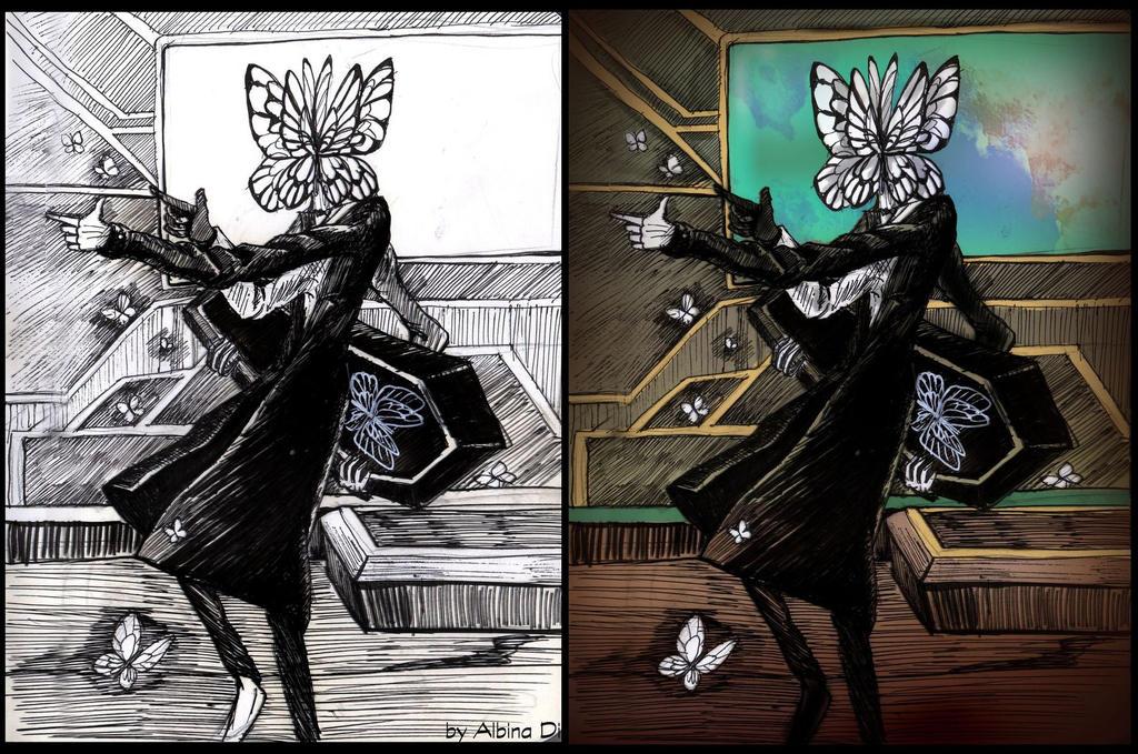 Lobotomy Corporation  - Dead Butterflies by AlbinaDiamond