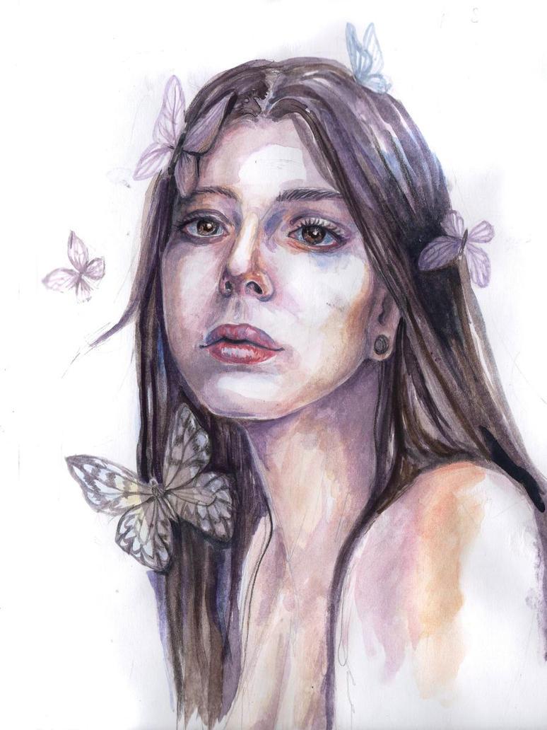 Butterflies by AlbinaDiamond