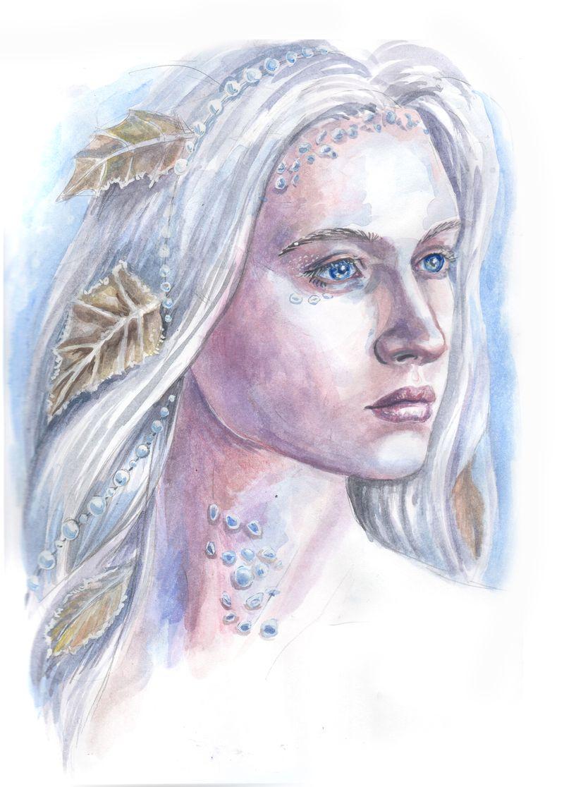Winter lady by AlbinaDiamond
