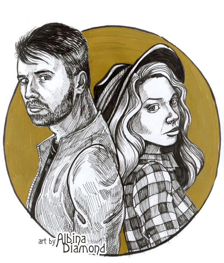 Eugene and OlgaNova by AlbinaDiamond
